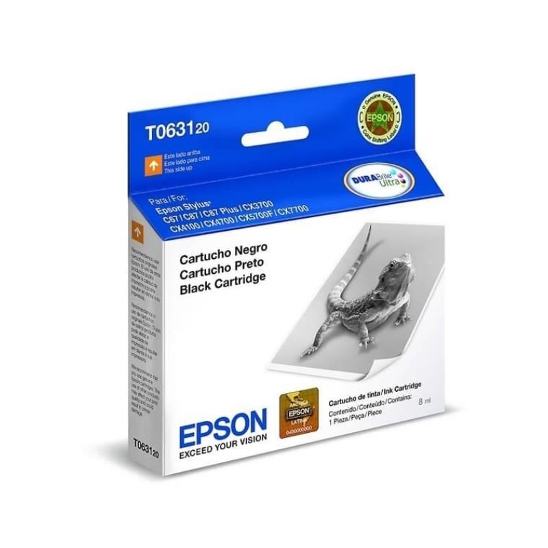 Epson Original T063120 Negro