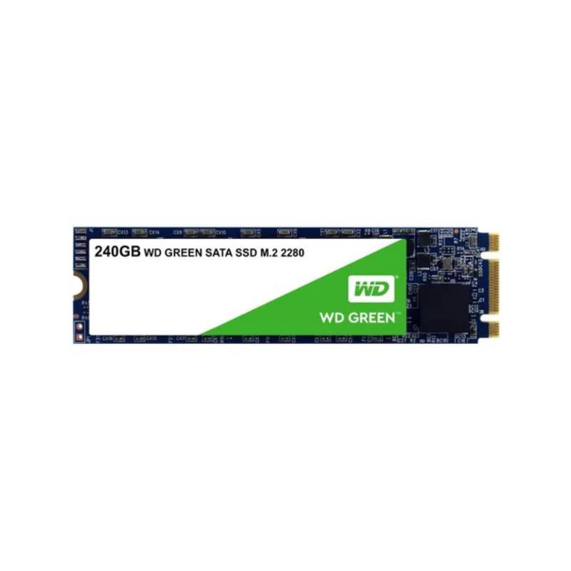 DISCO SSD WD 240GB GREEN SATA 3 3D M2 (WDS240G2G0B)
