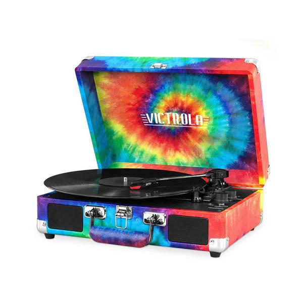 Tocadisco Victrola Maletin Bluetooth Full Tie-Dye