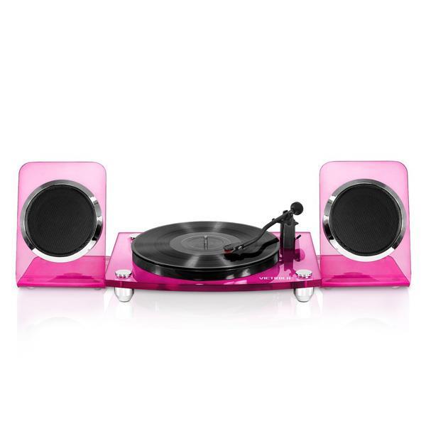 Tocadisco Victrola Acrilico Spkrs Pink