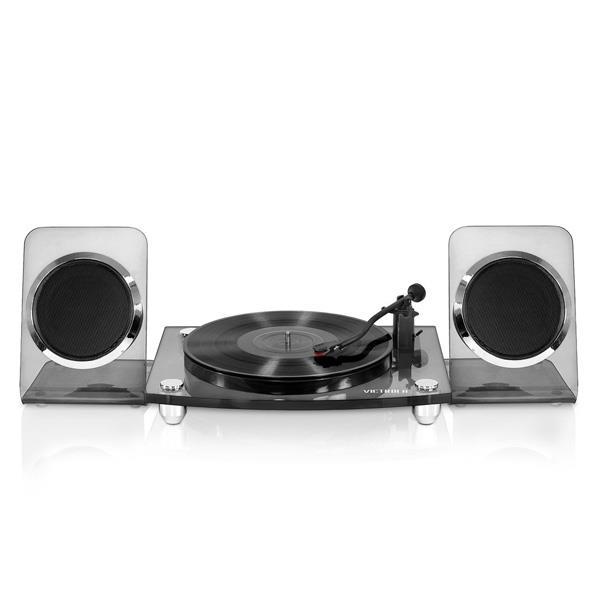 Tocadisco Victrola Acrilico Spkrs Bk/Smke Bluethoot