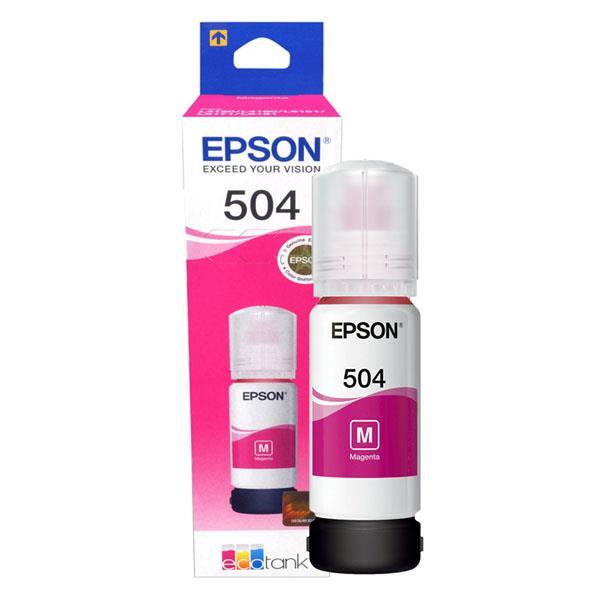 Epson Original T504320-Al Magenta - Botella de Tinta