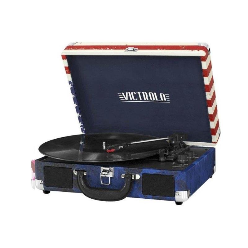 Tocadisco Victrola Maletin Bluetooth USA