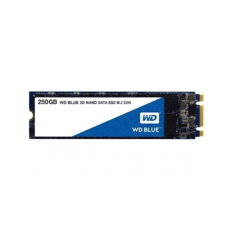 DISCO SSD WD 250GB BLUE SATA 3 3D M.2