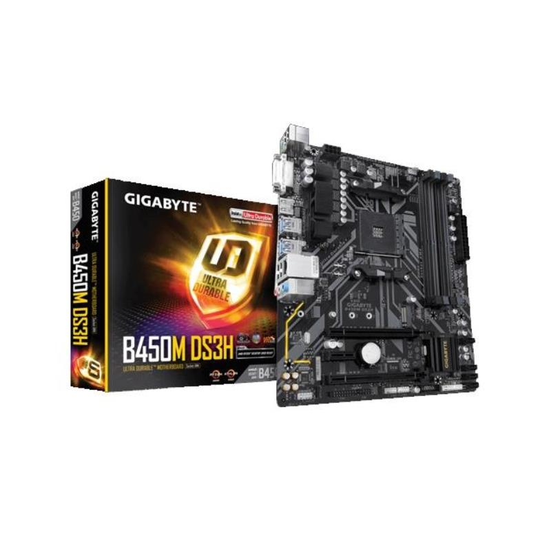 Motherboard Amd (Am4) Gigabyte Ga-b450m ds3h