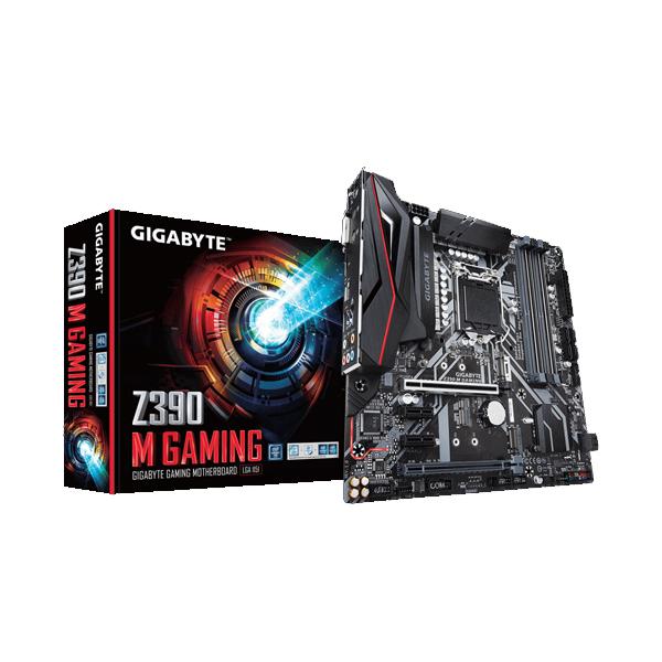 Motherboard Intel (1151) Gigabyte Z390 m gaming