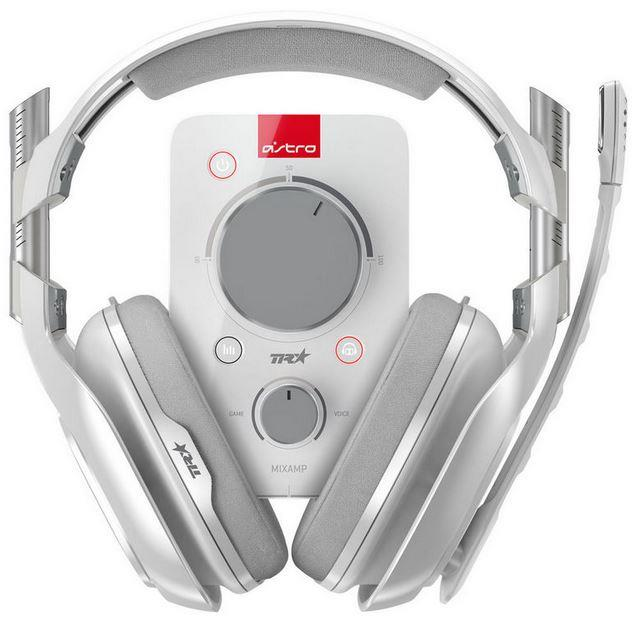 AURICULAR C/MIC GAMING ASTRO A40 + MIXAMP PRO TR BLANCO
