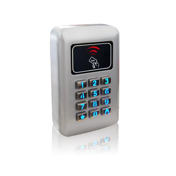 CONTROL DE ACCESO UNITECH - IP67 CLAVE/RFID/ALARMA  FUENTE  2000 USUARIOS