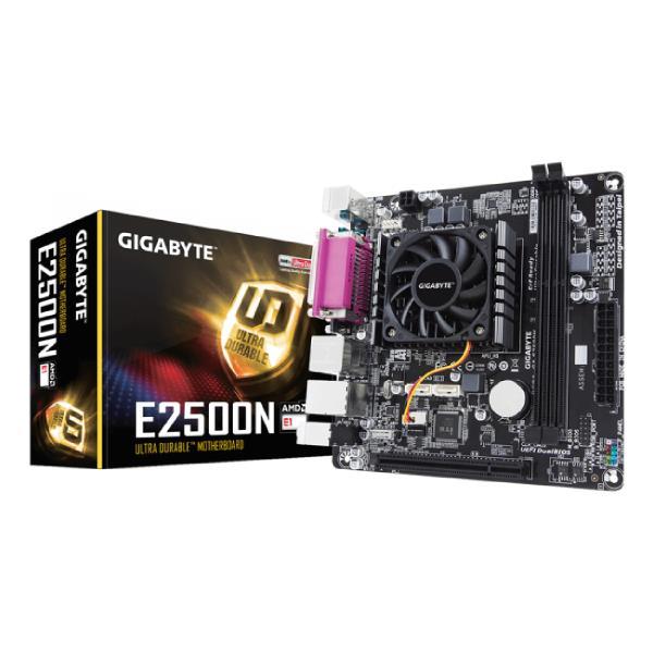Mb Amd Gigabyte E1-2500 Itx Ddr3 Dimm Apu Dual Core Ddr3X2 Radeon 8240 Hdmi