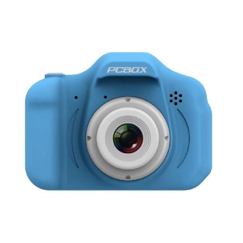 Cámara Fotográfica Pcbox Click Celeste PCB-KCC