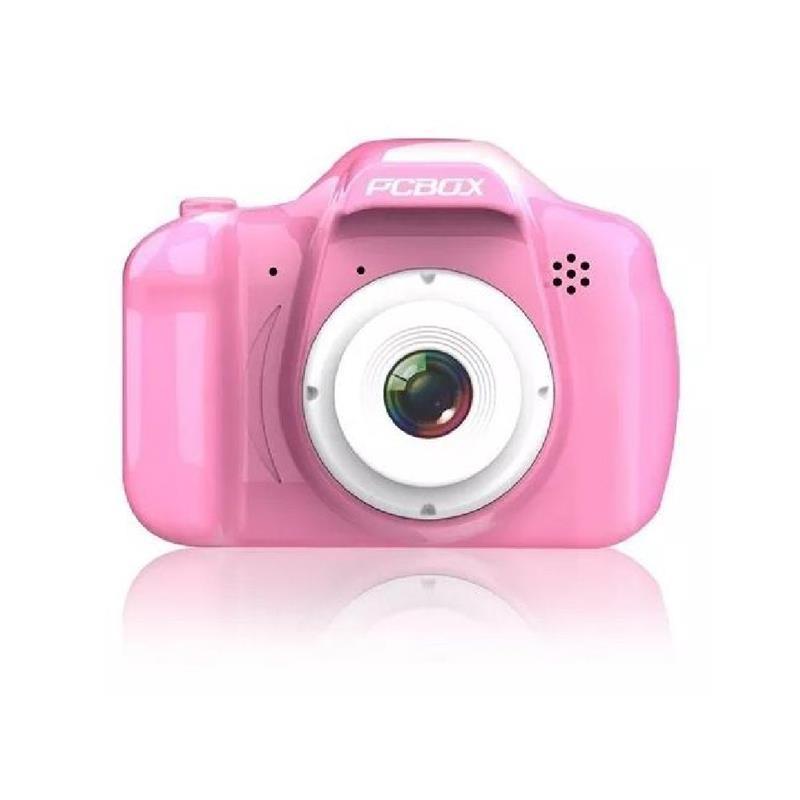 Cámara Fotográfica Pcbox Click Rosa (PCB-KCR)