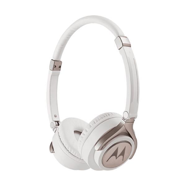 Auricular Motorola pulse 2 - Microfono incorporado, plegable blanco
