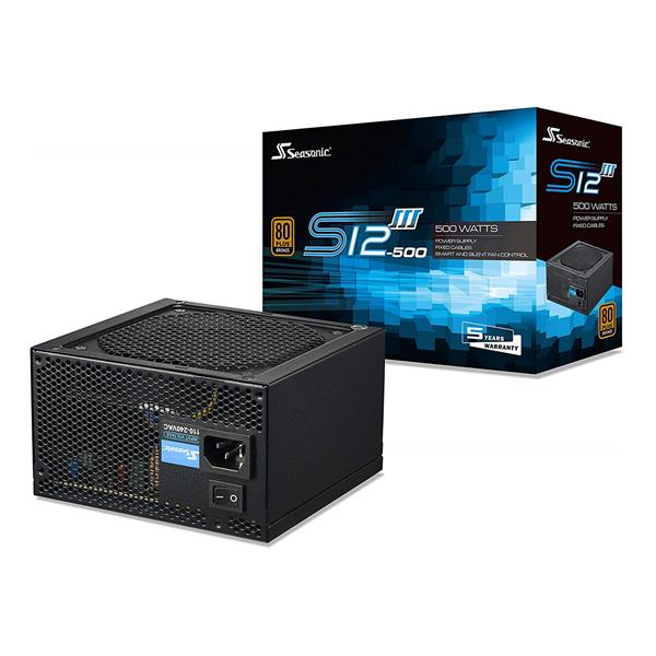 Fuente Seasonic 500 Watt Real S12Iii-500 (Pn Ssr-500Gb3)