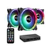 Kit de 3 Coolers Aerocool Duo 12 Pro AR