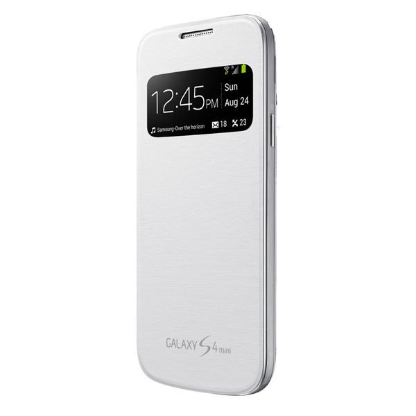 Celular Protector Samsung S4 Mini View Cover Blanco (Ef-Ci919Bwegww)