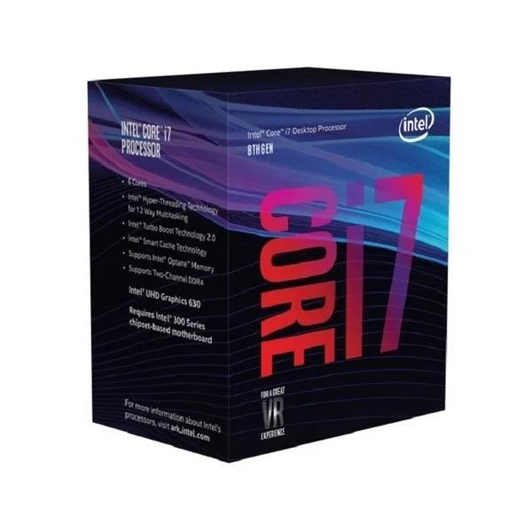 Micro Intel 1151 I7-9700 Coffe Lake.