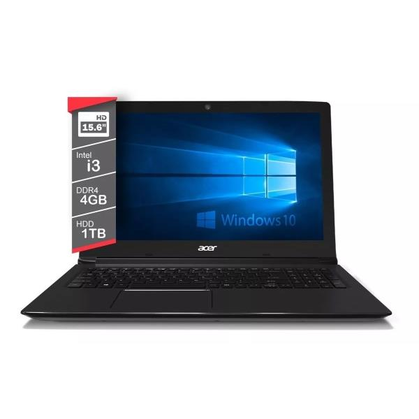 Notebook Acer-OUTLET- I3-7020U Aspire A3 4Gb 1Tb 15.6