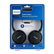 Auricular Philips Microfono Incorporado, Negro