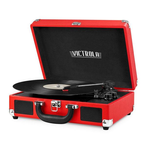 Tocadisco Victrola-OUTLET- Maletin Bluetooth Red