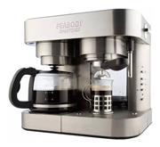 Cafetera Peabody Pe-Cc20 Combinada 19 Bar de Presion Func. Vapor y Calentado Cuerpo de Acero Inox