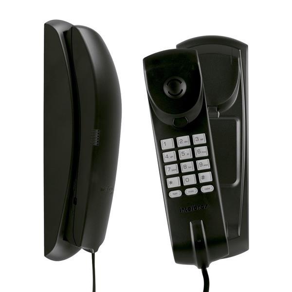 Telefono Fijo Intelbras Tc20 Negro Pared/Mesa