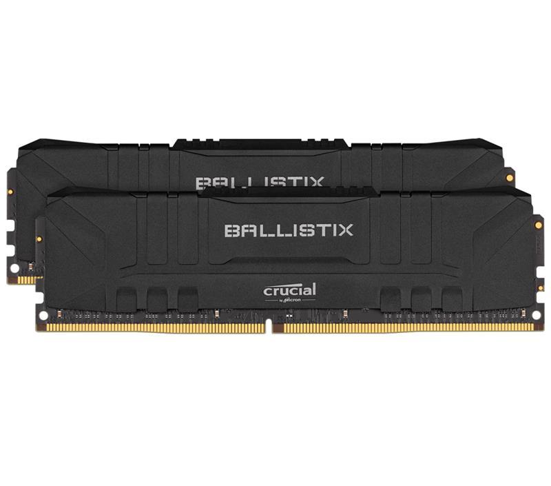 Memoria Udimm Crucial Ballistix 16GB Kit (2x8Gb) DDR4-2666 Black Blister.