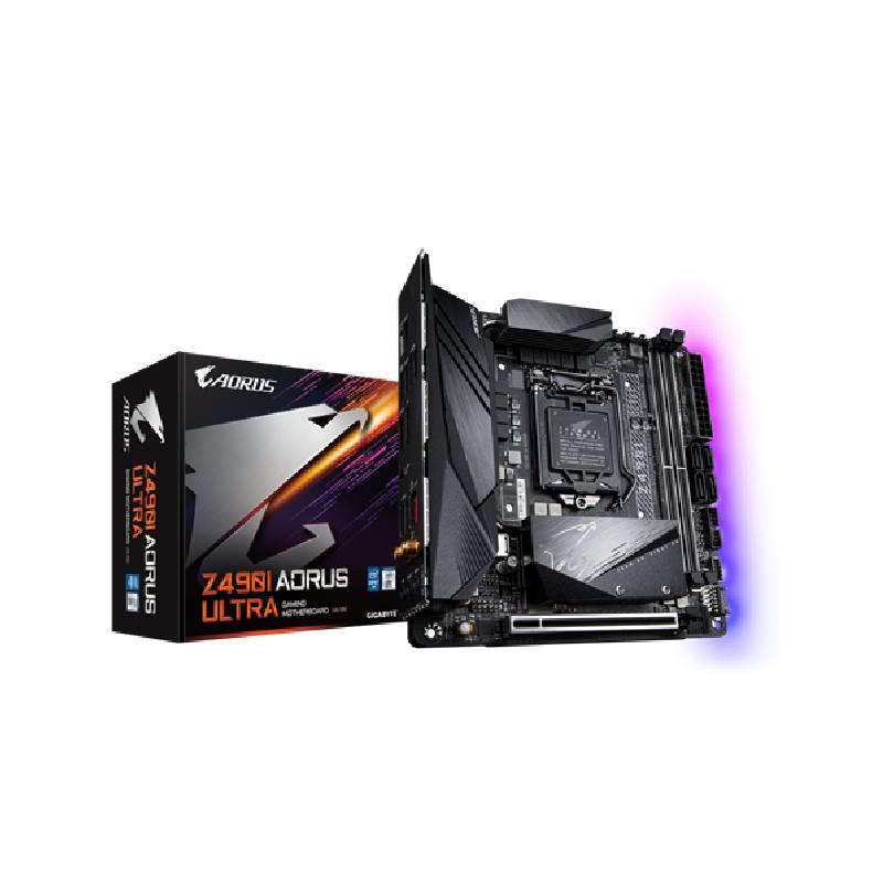 Motherboard Intel (1200) Gigabyte Z490I Aorus Ultra Mini ITX
