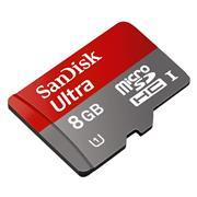 Memoria Sd Micro Sandisk 8Gb Incluye Ad
